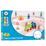 Bigjigs Rail Wooden Figure of Eight Train Set