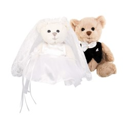 Kiara and Hugo Wedding Bears