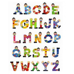 Sevi Clown Letters