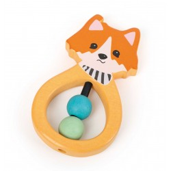 Small Foot Baby - Lex the Fox Grip Toy